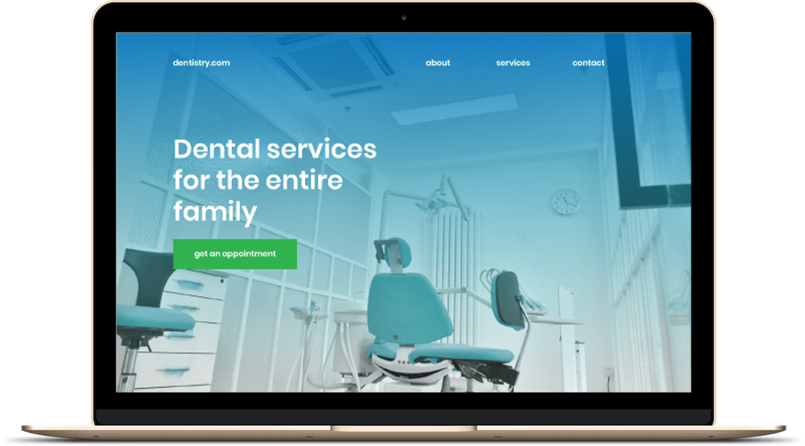 website-design-dentists-office